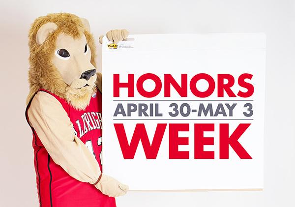 Honors Week graphic