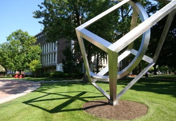 Campus sculpture
