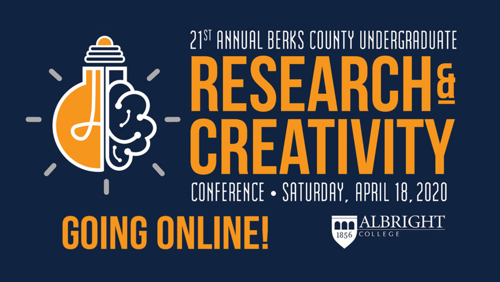 HECBC Conference, hosted online by Albright College, April 18, 2020.