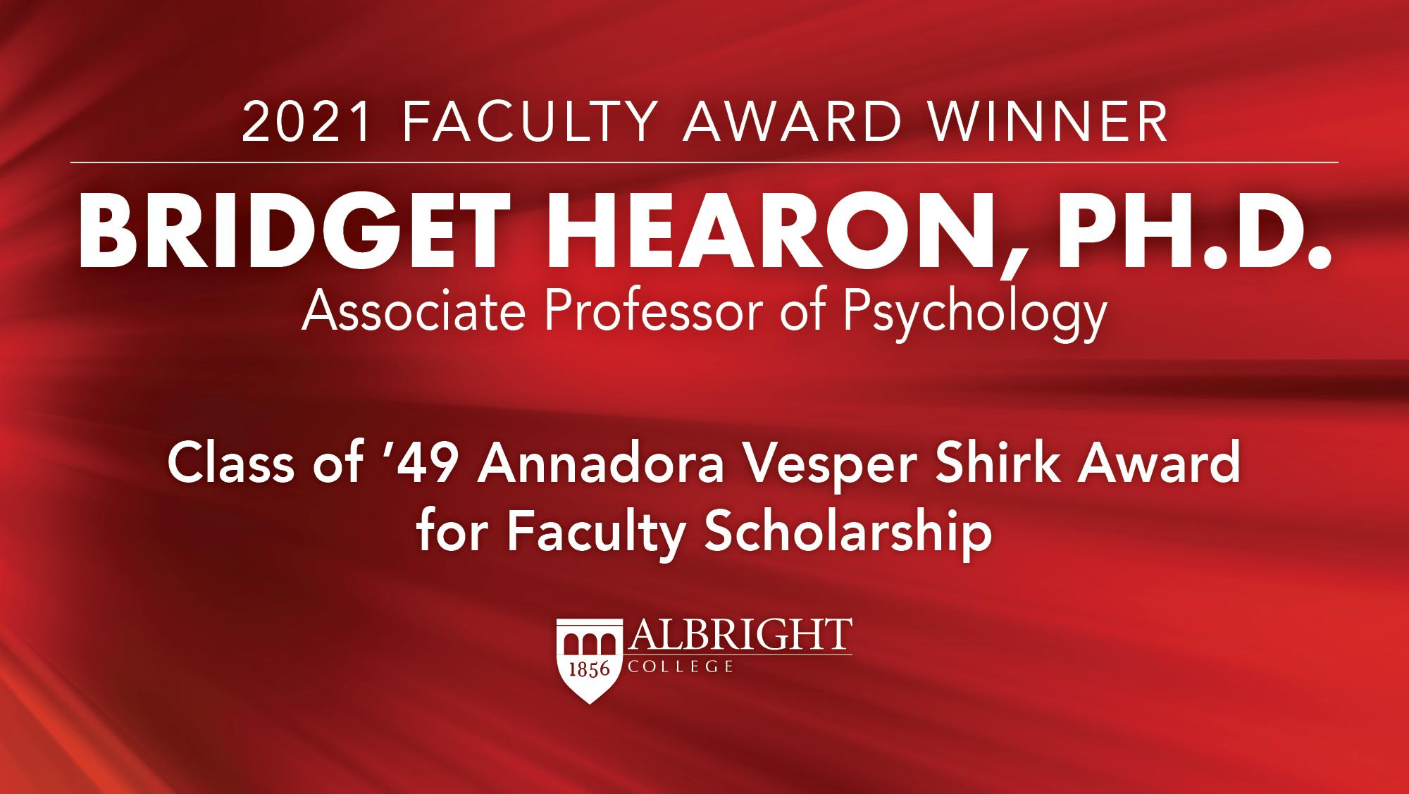 Bridget Hearon, Ph.D.