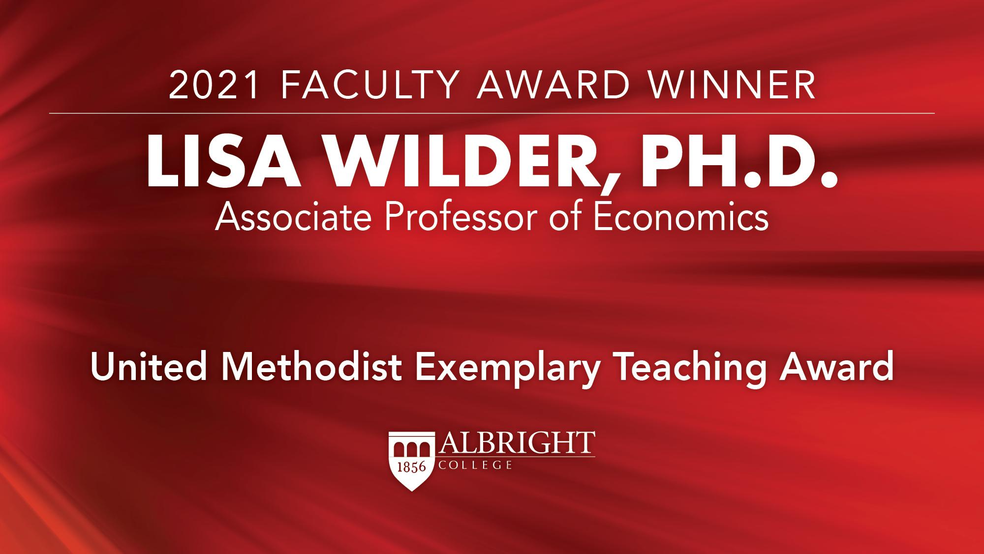 Lisa Wilder, Ph.D.