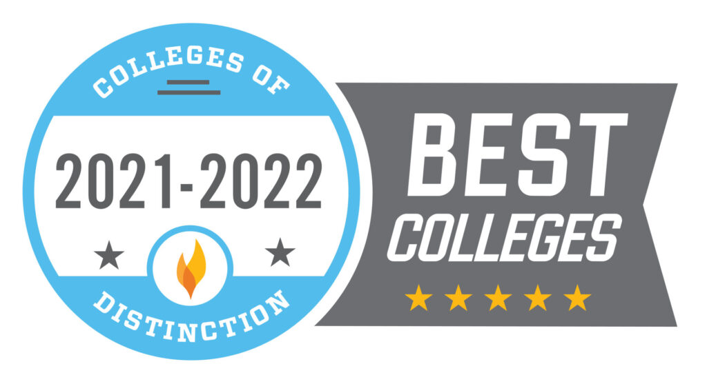 """""""2021-2022 Colleges of Distinction Best Colleges"""""""