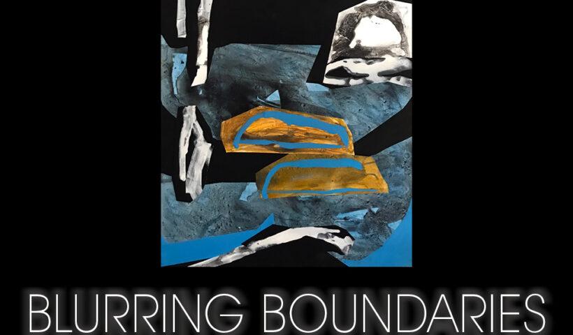 """Blurring Boundaries"" art"