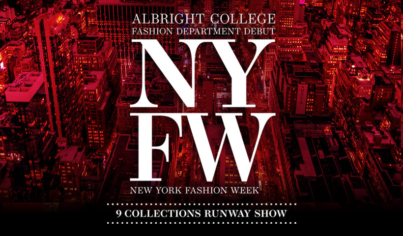 NYFW, Albright College 9 collections